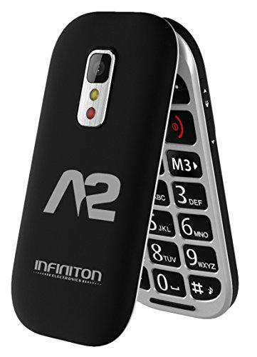 TELÉFONO MÓVIL INFINITON A2 NEGRO