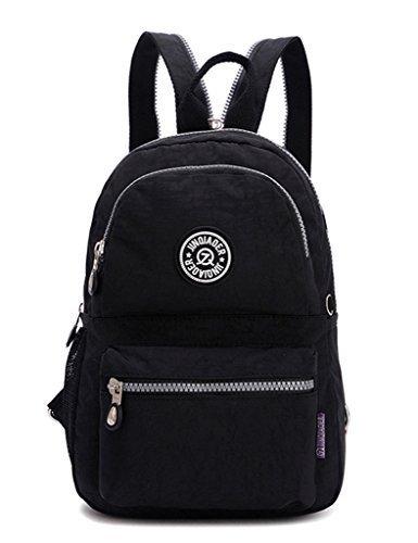tianhengyi-ninas-pequena-mochila-de-nylon-resistente-al-agua-luz-sling-pecho-bolsa-negro-negro-56033