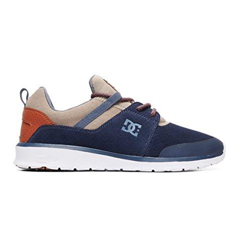 DC Heathrow Presti m Shoe, Sneakers da Uomo, Blu (Navy/Khaki), 8.5 UK