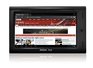 Arnova 7 G3 17,8cm (7 Zoll) Tablet PC (Prozessor 1 GHz, 1GB RAM, 8 GB SSD, WiFi, kapazitives Display, Android 4.0) schwarz