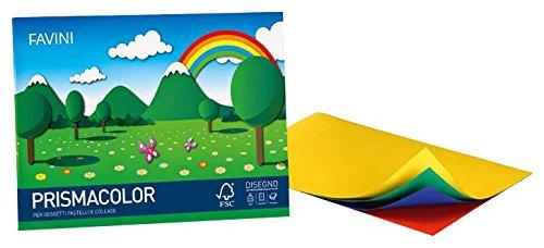 Cartotecnica favini - album prismacolor 24 x 33 cm, 128 g / m2, confezione da 20 pezzi