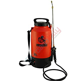 AUSONIA - 38001 ELECTRIC SPRAYER, PRESSURE SPRAYER 8 LT WITH RECHARGEABLE BATTERY 12V/1,3 AH