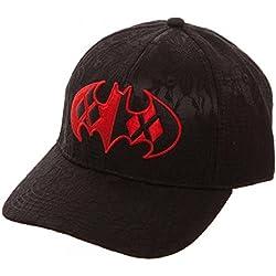 Harley Quinn Batman Logo Gorra de beisbol negro/rojo