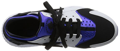 Nike Herren Air Huarache Sneakers White / Black / Violet
