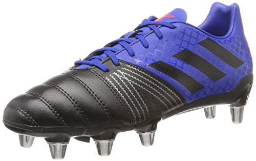 Adidas Herren Kakari Sg Rugbyschuhe, Mehrfarbig (Collegiate Royal/Core Black/Blaze Orange S13), 46 EU