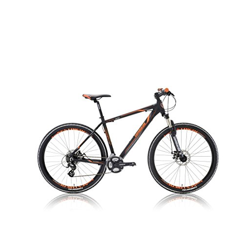 "VTT SESTRIERE 300 27.5"" noir/orange 2017 - 23"""