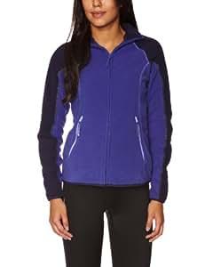 Berghaus Women's Spectrum Micro Full Zip Fleece - Orient Purple/Tropical Midnight, Size 16