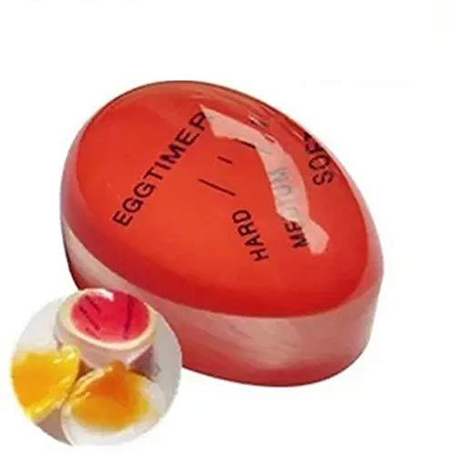 Gadget da cucina Timer per uova Silicone sensibile al calore Colore riutilizzabile Timer per uova sode