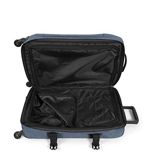 Eastpak Trans4 S Koffer, 54 cm, 44 L, Schwarz Double Denim