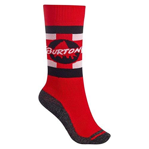 Burton Jungen Emblem SK Snowboard Socken, Process Red, S\M