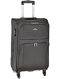 Pronto Camry Polyester 58 cms Grey Softsided Carry-On (6466-GY)