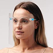 قناع حماية لكامل الوجه مضاد للضباب ومضاد للقطرات من سمارت لاين، شفاف