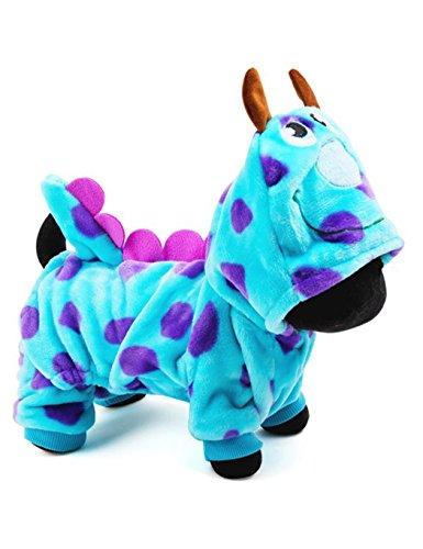 FastDirect Disfraces de Dinosaurio para Mascota Ropa para Perro Abrigo de Perro Chaqueta de Mascota Invierno