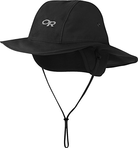 outdoor-research-snoqualmie-regenhut-black