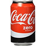 Coca-Cola - Zero, Lata 330 ml - [pack de 12]
