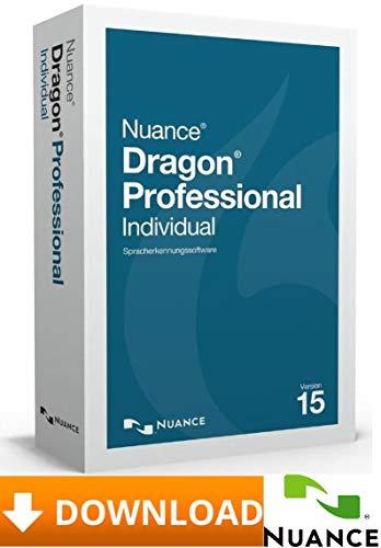 Nuance Dragon Professional Individual V15.0 - Deutsch + Englisch - 2PC-Windows ★ Versand via Amazon-Nachricht innerhalb von max. 24Stunden ★
