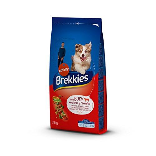 Brekkies Pienso Perros Buey Verduras - 15000 gr