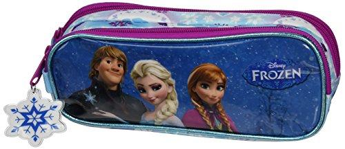 Frozen Friends Forever Portatodo Doble Lleno, 23 Piezas, Color Azul