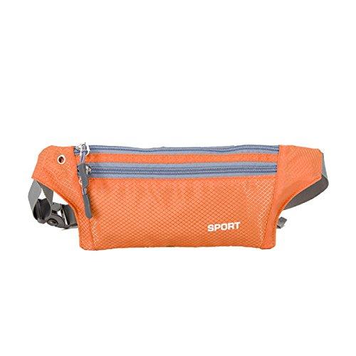 Multifunktionale Outdoor Fitness Running Taschen Mehrfarbig Orange