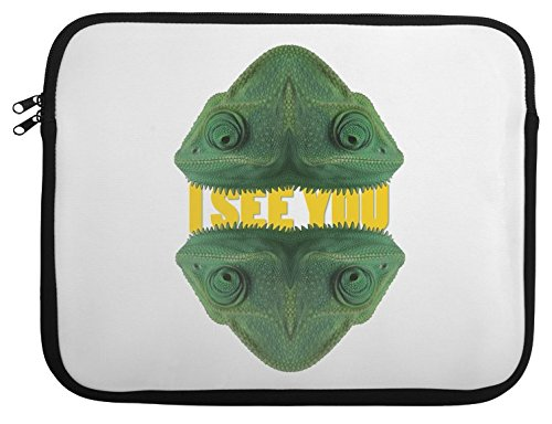 Chameleon Eyes Laptop Case 13