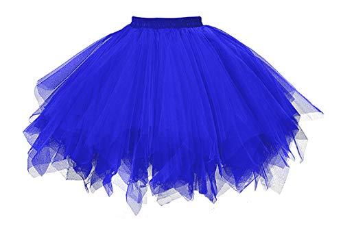 ntage Ballet Blase Firt Tulle Petticoat Puffy Tutu Royal Small/Medium ()