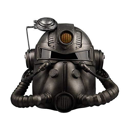 Wsjdmm Maskerade Requisiten Radiation Mask Helm Halloween Show Dress Up Requisiten Horror 76 Soldat Maske Video Game Around Cosplay Halloween Weihnachtsgeschenk Streich Requisiten Kopfbedeckungen Perü