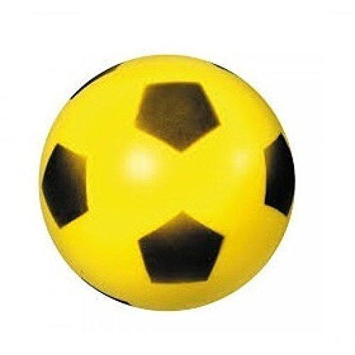 Bola de espuma / Bola blanda / Fútbol Aprox. 20 cm Balón amarillo