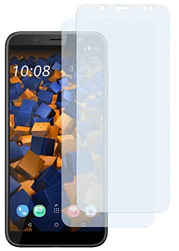 mumbi Schutzfolie kompatibel mit HTC U12 Life Folie klar, Bildschirmschutzfolie (2x)