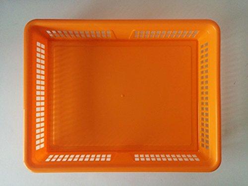 Aufbewahrungskorb Schubladen Körbe 4-farbig sortiert 12 Stück (4 Schublade Korb)