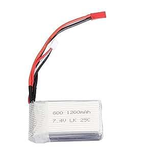 7.4V 1200mAh 25 C Lipo batterie Pour WLtoys A949 A979 RC voiture