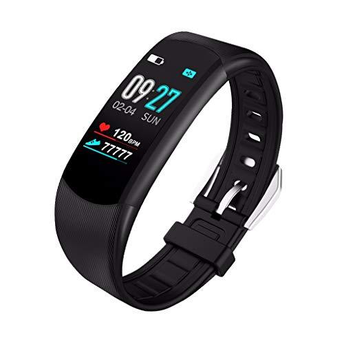 Ears Fitness Uhr Bluetooth Smartwatch Schrittzähler Schlafanalyse Uhr Fitness Armband Touchscreen Uhr Wasserdichte Pulsuhr Watch Wasserdichte Pulsuhr Watch LED Sportuhr Schrittzähler