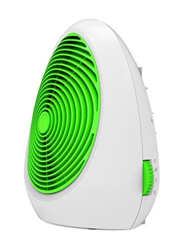 Ardes Muna Calentador de ventilador Verde 2000 W - Calefactor (Calentador de ventilador, Piso, Mesa, Verde, 2000 W, Eléctrico)