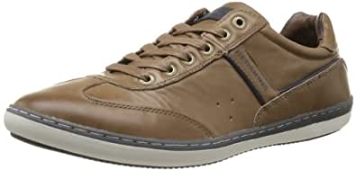 Redskins Olbia, Baskets mode homme - Marron (Antilope Marine), 42 EU