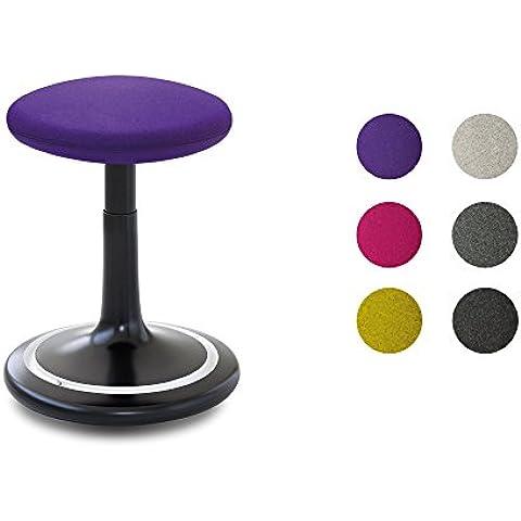 De colour negro y corte clásico de ONGO con cuerpo de colour blanco de la funda de fieltro de lana con diseño de bola de colour mezclado de divina