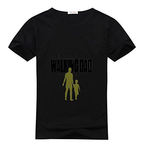 Yilaicustom personalized diy custom walking dad men's short sleeve t-shirt