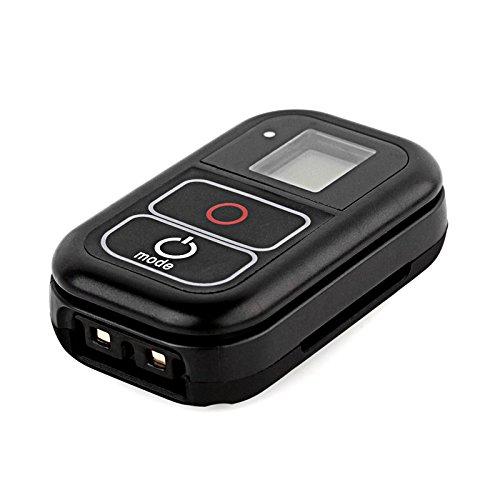 SHOOT Fernauslöser Wasserdicht WiFi Fernbedienung für GoPro HERO 6/5/4/3+/3/HERO+LCD/4 Session mit Einem Ladekabel und Hand Tragegurt (Pro Hero Fernbedienung Wifi 3 Go)