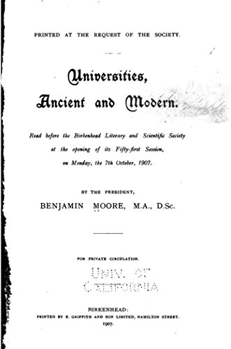 universities-ancient-and-modern-english-edition