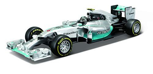 Bburago Die-Cast 1/32 Scale Race Car - Mercedes AMG Petronas F1 W05 Hybrid (#44 Lewis Hamilton)