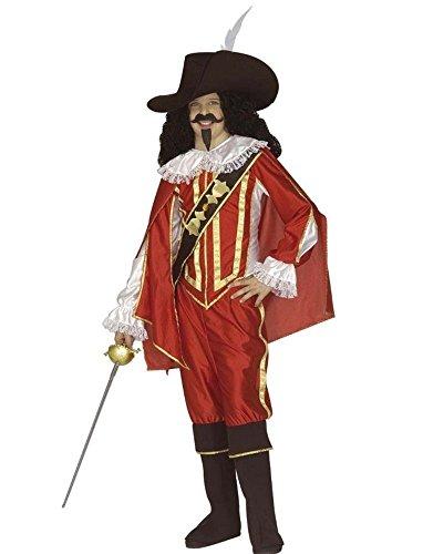Kostüm Karneval Kinder, Jungen, Musketier * 19830Serie 3Musketiere, mehrfarbig (3 Kostüme Musketiere)