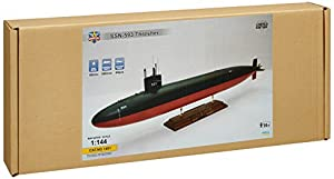 Modelsvit msvit1401-Maqueta de USS Thresher SSN de 593Submarine, Gris