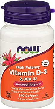 NOW Vitamin D-3 1