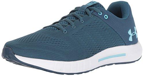 Under Armour UA W Micro G Pursuit, Zapatillas de Running para Mujer, Azul (Static Venetian Blue), 40.5 EU