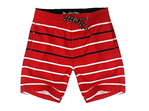 Madhero - Short de bain - Homme - rouge - X-Large