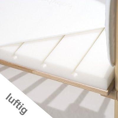 Babybay 160509 - Colchón maxi con funda impermeable y transpirable