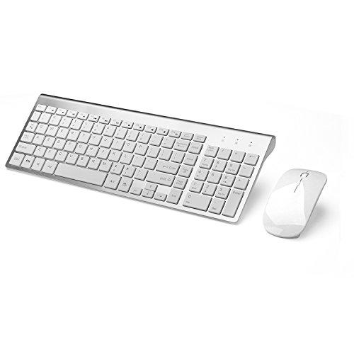 Joyaccess 0756330313456 Wireless Keyboards Whisper Quite Typing