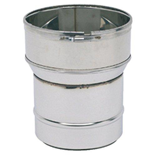 Raccord poêle tube diamètre 150-153mm diamètre flexible 155/161mm réf 123152