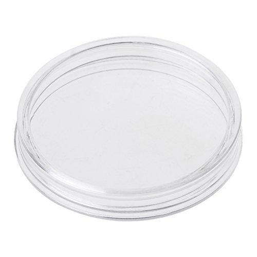 Longsw 1 PC 38,6 Mm Runde Acryl Münze Kapsel Klar Lagerung Inhaber Für Silbermünze 1 Unze -