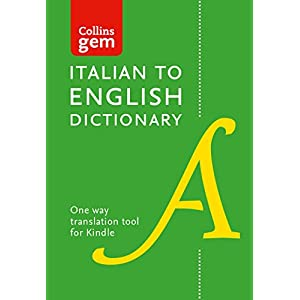 Collins Italian to English (One Way) Dictionary Ge