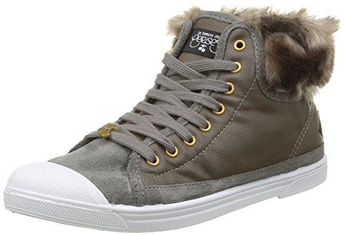 Le Temps des CerisesBasic 03 - Sneaker Donna , Grigio (Gris (Fur Grey)), 39
