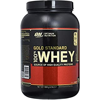Optimum Nutrition 100% Whey Gold Standard - 2lbs, Double Rich Chocolate